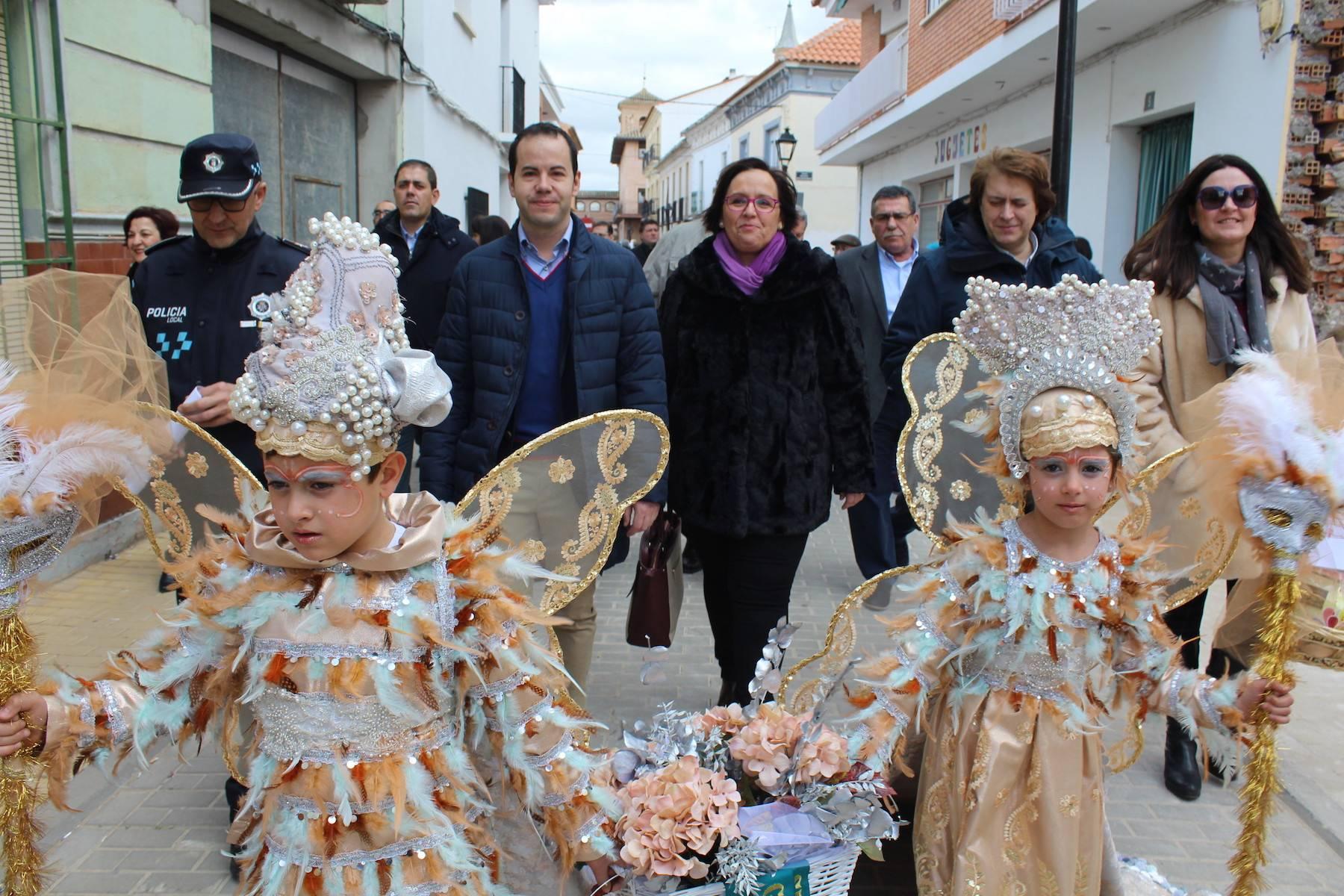 Carmen Olmedo en carnaval de Herencia 1 - Informe favorable previo para la declaración de Interés Turístico Nacional del Carnaval de Herencia