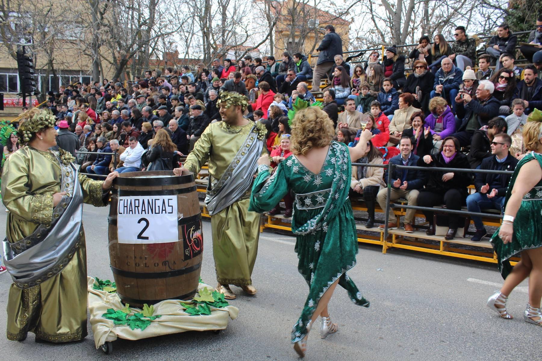 Carmen Olmedo en carnaval de Herencia nacional - Informe favorable previo para la declaración de Interés Turístico Nacional del Carnaval de Herencia
