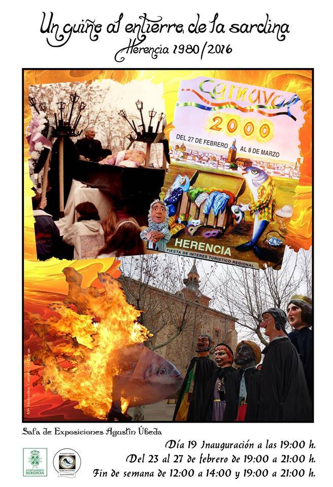30 años del Entierro de la Sardina de Herencia en una exposición 4