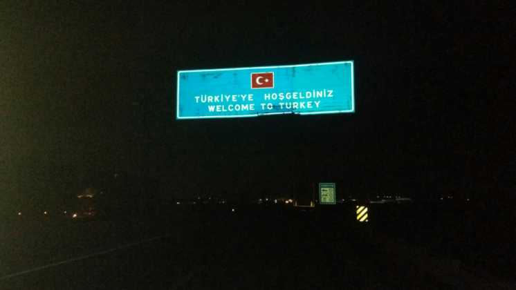 Perlé entrando en Turquía,el continente asiático se presenta ante nuestro caballero 32