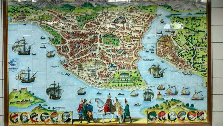 Perlé entrando en Turquía,el continente asiático se presenta ante nuestro caballero 21