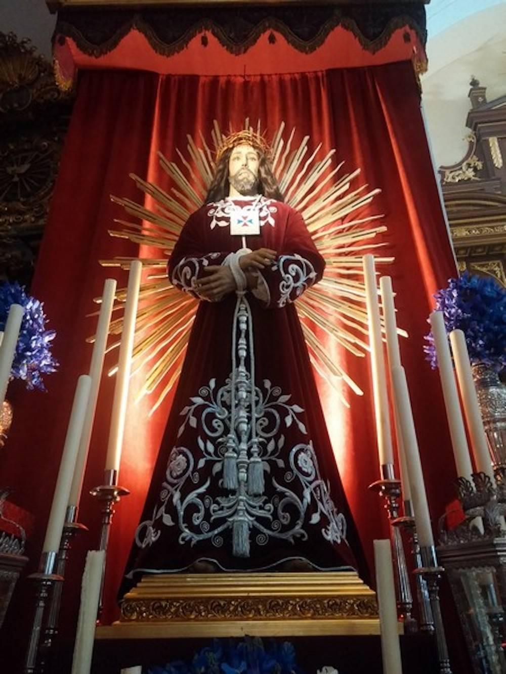 Jesus de Medinaceli de Herencia1 - Triduo y vía crucis en honor a Jesús de Medinaceli