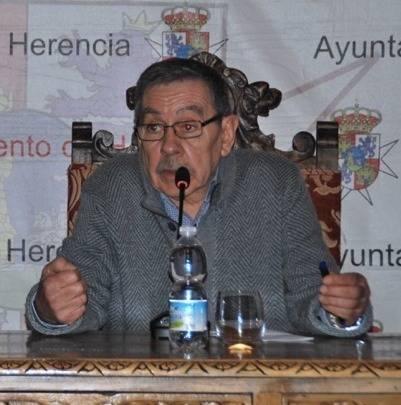 Jose Rosello y Tomas Berrio en las V Jornadas Culturales del Carnaval de Herencia09 - José Roselló gana el Premio de Periodismo Virgen de las Viñas