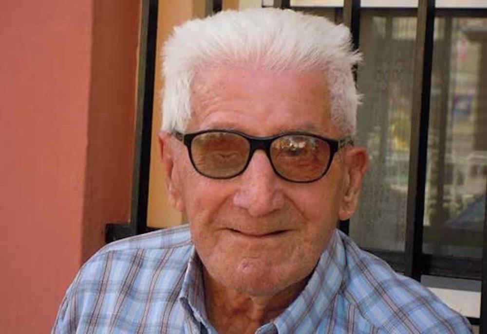 """Manuel Gallego Nicasio - El herenciano Gallego-Nicasio de 101 años: """"Un superviviente de la Batalla del Ebro"""""""