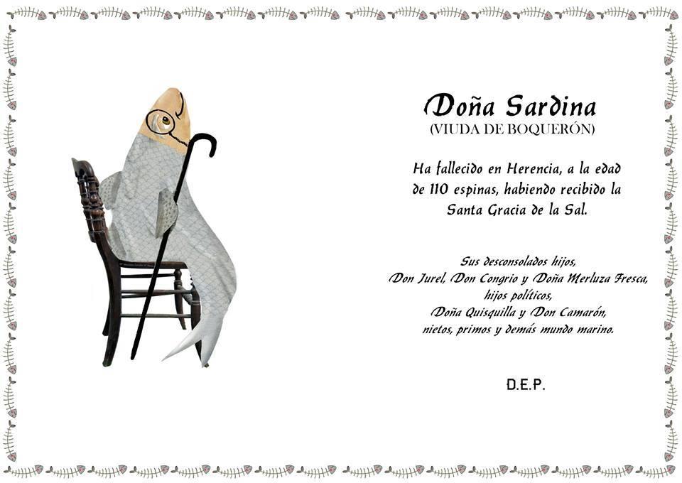 Montaje entierro de la Sardina Herencia - 30 años del Entierro de la Sardina de Herencia en una exposición