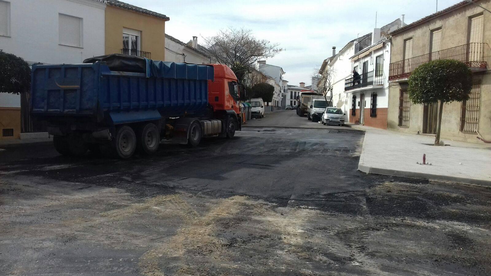 asfaltando de calle cruces herencia 2 - Finalizada la remodelación de la intersección de calle Cruces