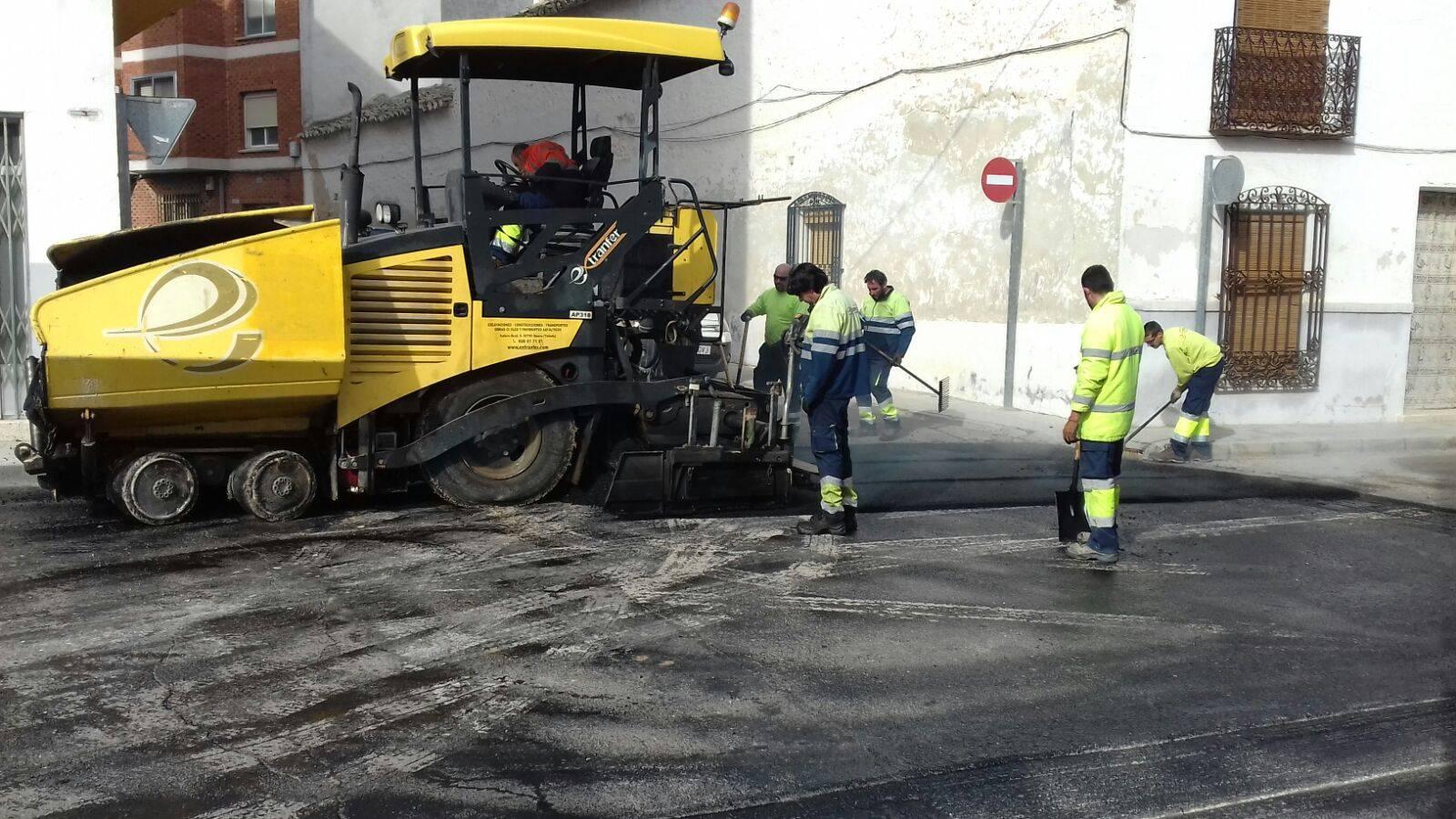 asfaltando de calle cruces herencia 3 - Finalizada la remodelación de la intersección de calle Cruces