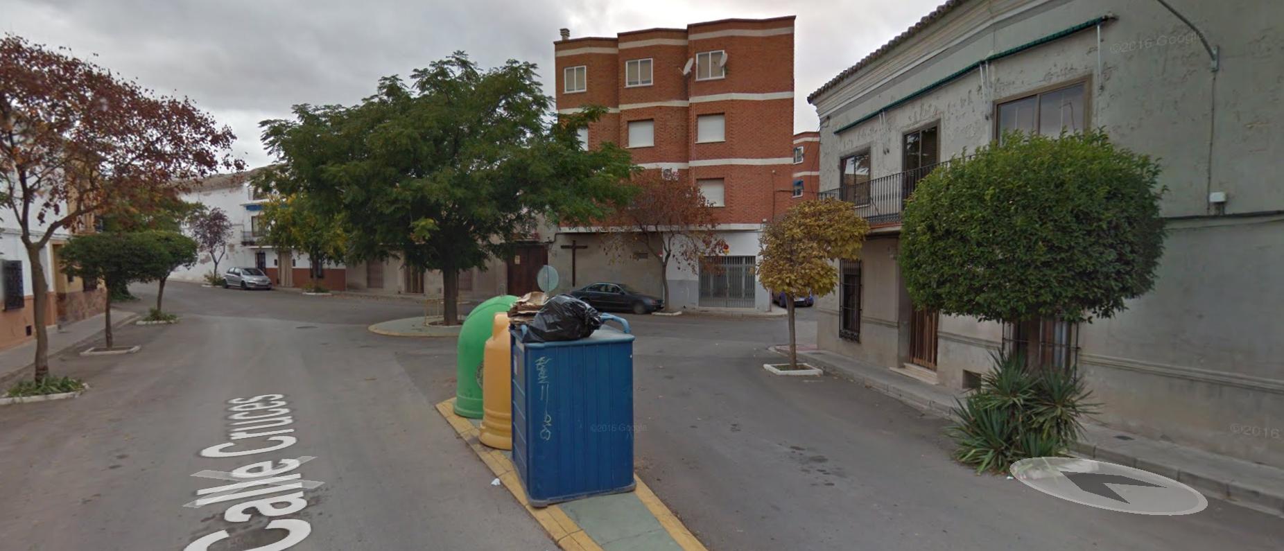 calle cruces en google street view - Finalizada la remodelación de la intersección de calle Cruces