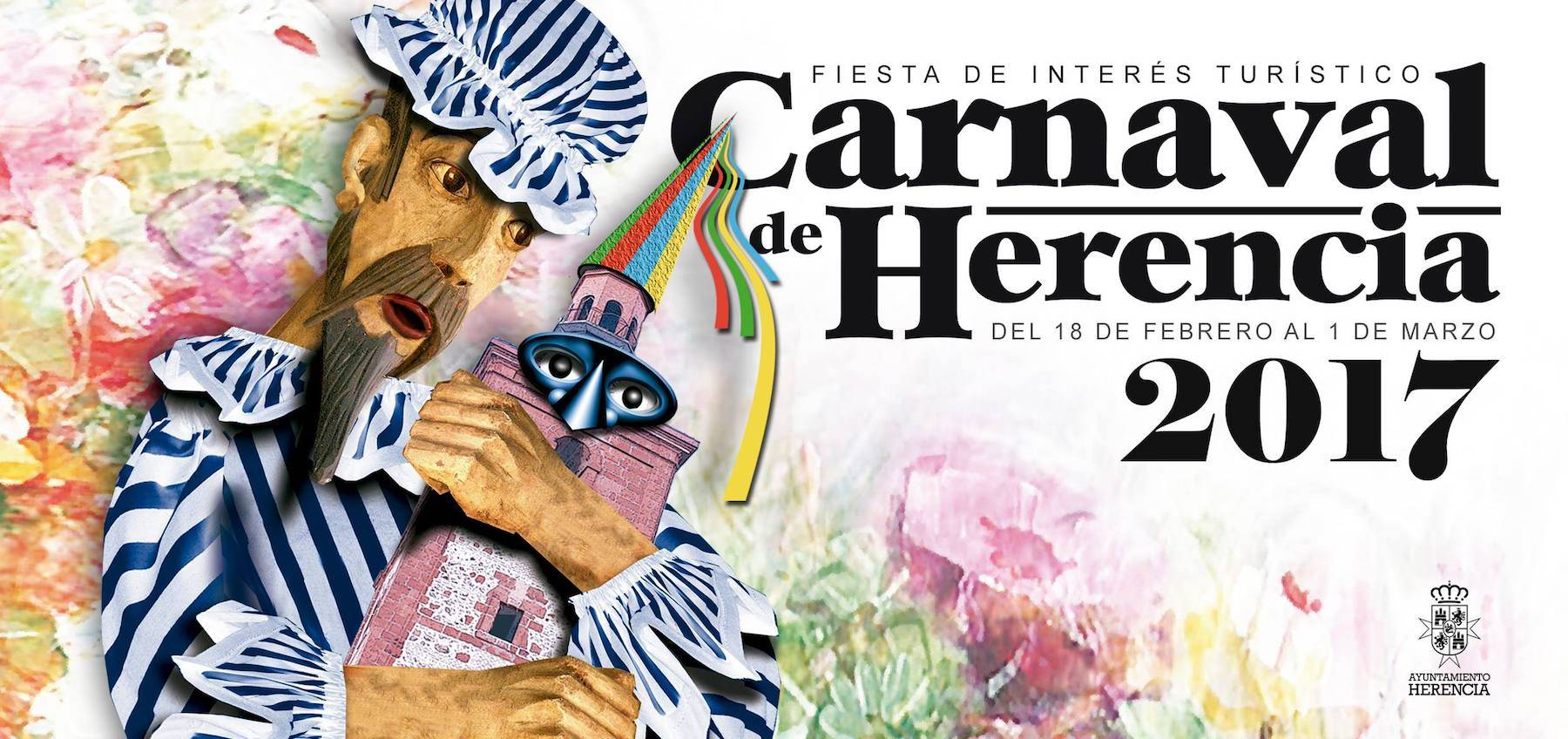 Programa de actos de Carnaval de Herencia 2017 1
