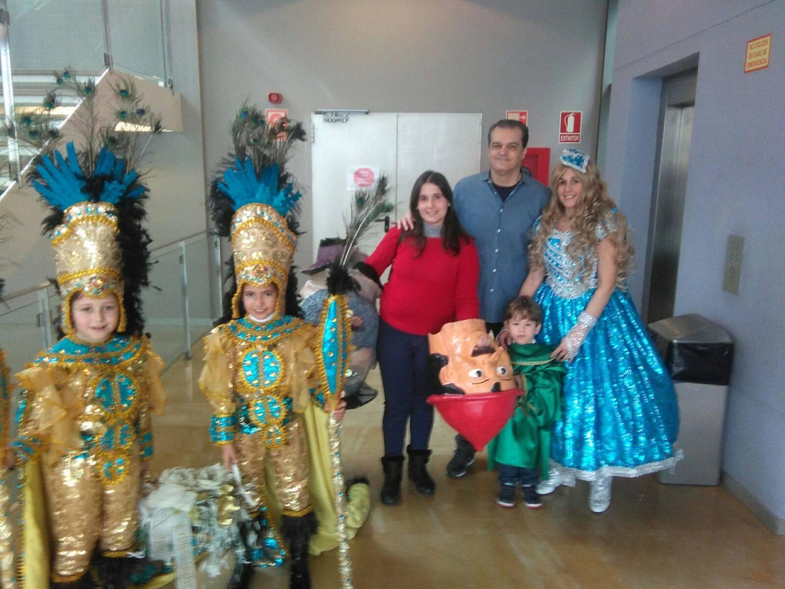 El Carnaval de Herencia en el programa de Ramón García en CMMedia 5