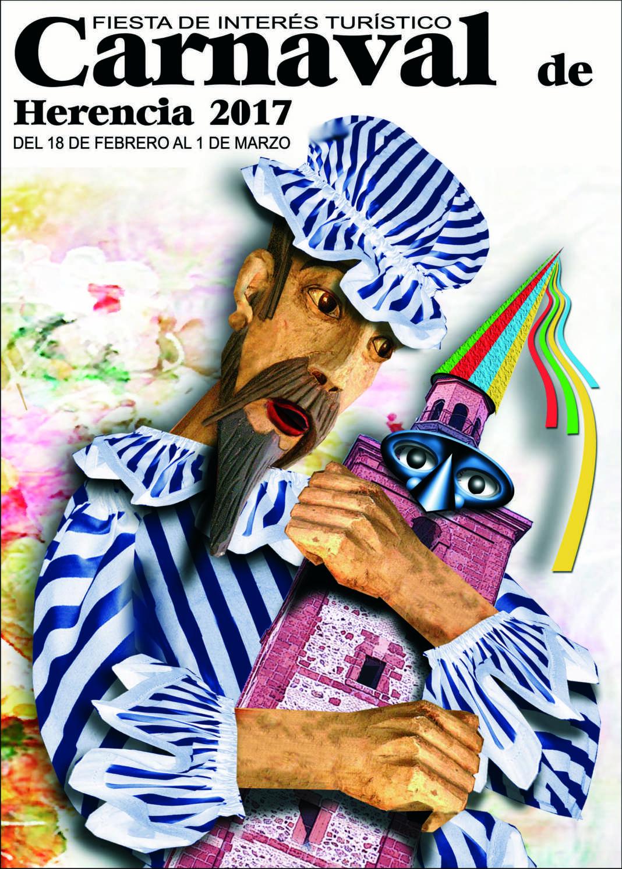 Ya tenemos cartel de Carnaval de Herencia 2017 1