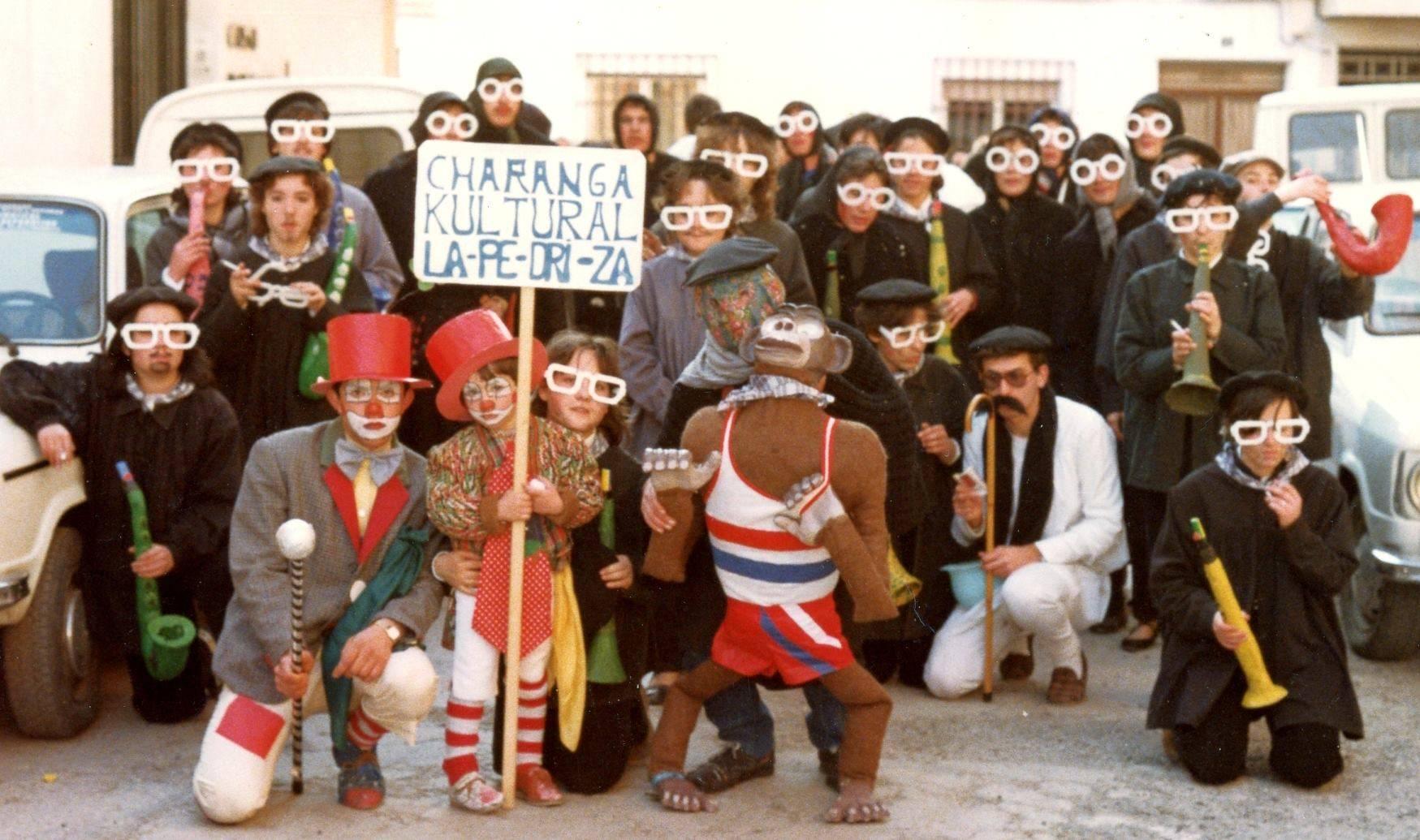 charanga la pedriza 1980 - Seguimos con la historia del Carnaval de Herencia a través de imágenes