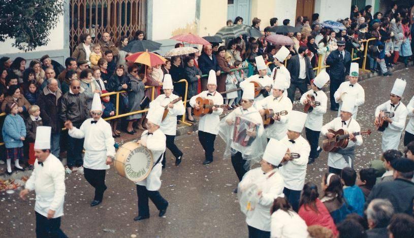 """charanga tio bucha 1980 carnaval de herencia 4 - Carnaval de Herencia, la charanga del """"Tio Bucha"""", años 1980"""