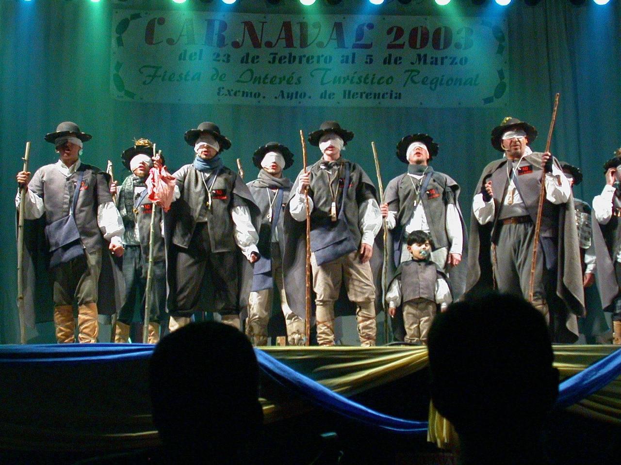 chirigota los pelendengues 2003 - Seguimos con la historia del Carnaval de Herencia a través de imágenes