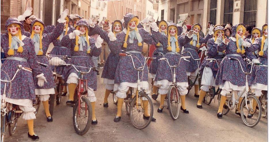 comparsa los de siempre 1980 - Seguimos con la historia del Carnaval de Herencia a través de imágenes