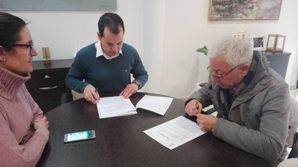 Convenio entre ayuntamiento y la Agrupación Musical Santa Cecilia 4