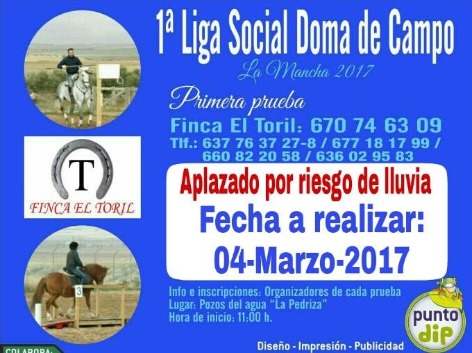 doma de campo herencia 4 marzo - Primera Liga Social Doma de Campo en Herencia