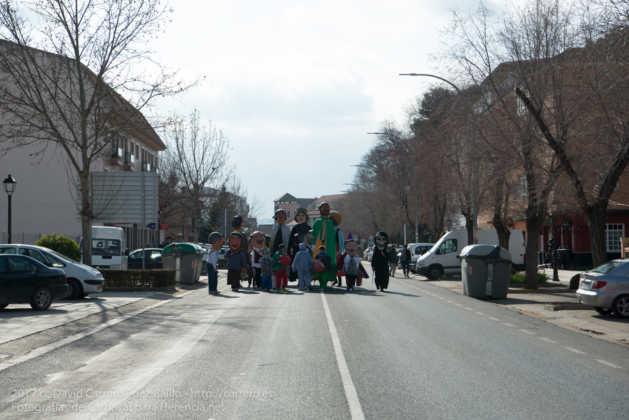 Un Perlé de más de tres metros da la bienvenida al Carnaval de Herencia 4