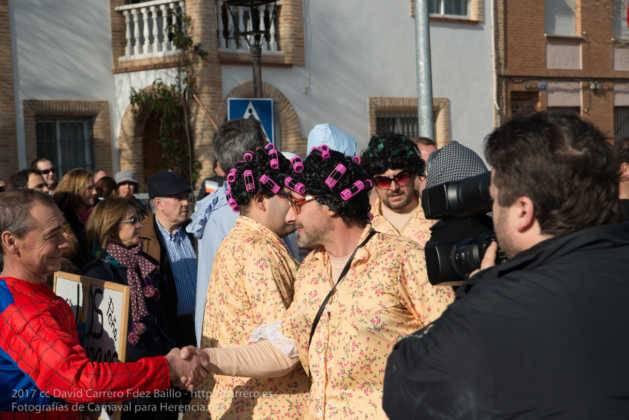 Un Perlé de más de tres metros da la bienvenida al Carnaval de Herencia 22