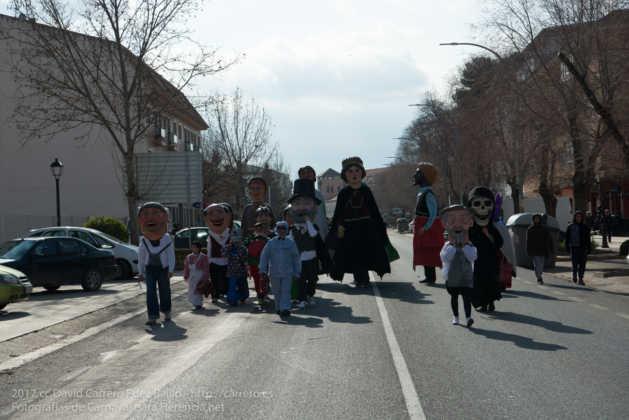 Un Perlé de más de tres metros da la bienvenida al Carnaval de Herencia 5