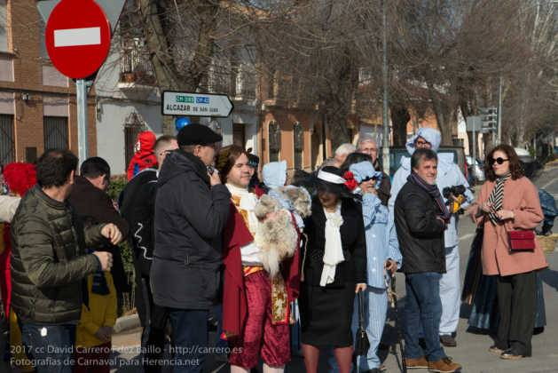 Un Perlé de más de tres metros da la bienvenida al Carnaval de Herencia 23