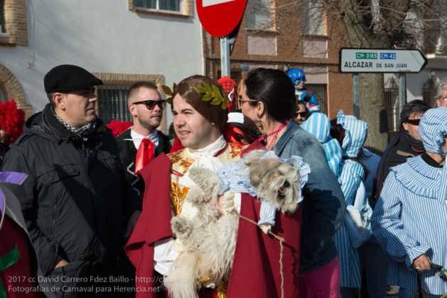 Un Perlé de más de tres metros da la bienvenida al Carnaval de Herencia 27