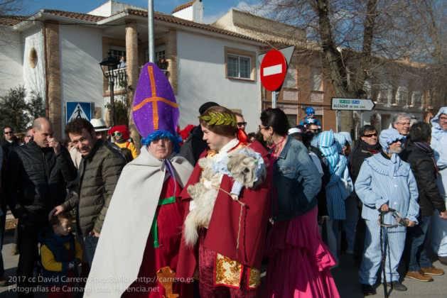 Un Perlé de más de tres metros da la bienvenida al Carnaval de Herencia 28