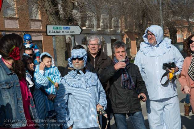 Un Perlé de más de tres metros da la bienvenida al Carnaval de Herencia 29
