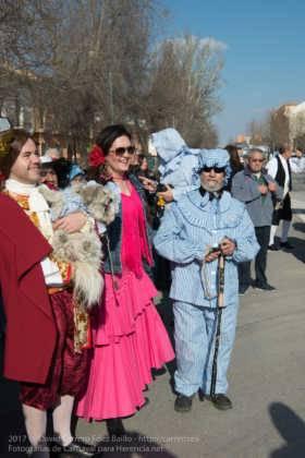 Un Perlé de más de tres metros da la bienvenida al Carnaval de Herencia 31