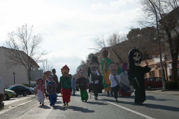 Un Perlé de más de tres metros da la bienvenida al Carnaval de Herencia 6