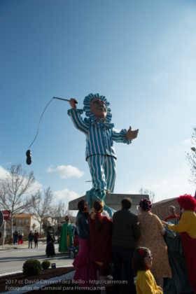 Un Perlé de más de tres metros da la bienvenida al Carnaval de Herencia 38