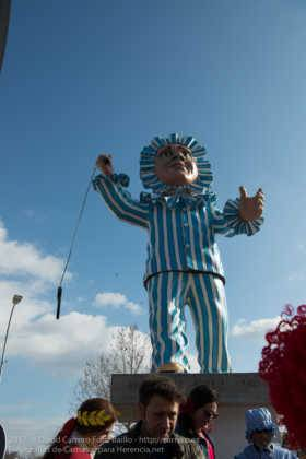 Un Perlé de más de tres metros da la bienvenida al Carnaval de Herencia 39