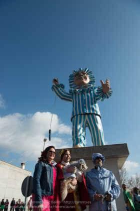 Un Perlé de más de tres metros da la bienvenida al Carnaval de Herencia 41