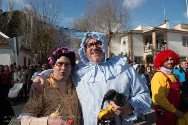 Un Perlé de más de tres metros da la bienvenida al Carnaval de Herencia 46