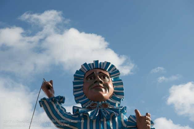 escultura perle en domingo deseosas carnaval herencia 48 629x420 - Un Perlé de más de tres metros da la bienvenida al Carnaval de Herencia