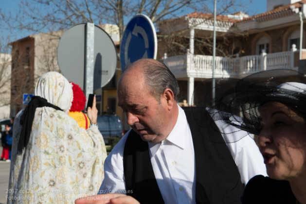 Un Perlé de más de tres metros da la bienvenida al Carnaval de Herencia 57