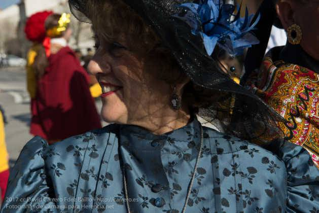 Un Perlé de más de tres metros da la bienvenida al Carnaval de Herencia 58