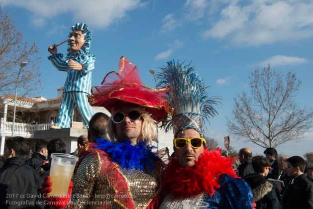 Un Perlé de más de tres metros da la bienvenida al Carnaval de Herencia 61