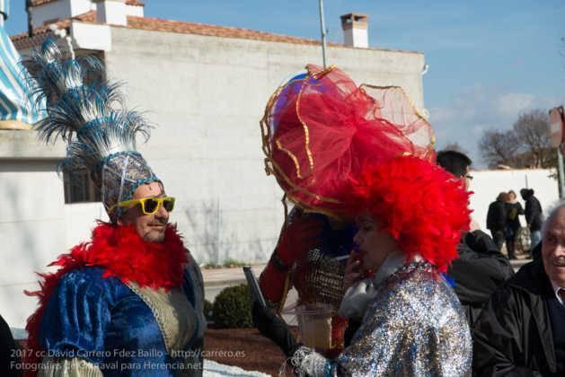 Un Perlé de más de tres metros da la bienvenida al Carnaval de Herencia 66