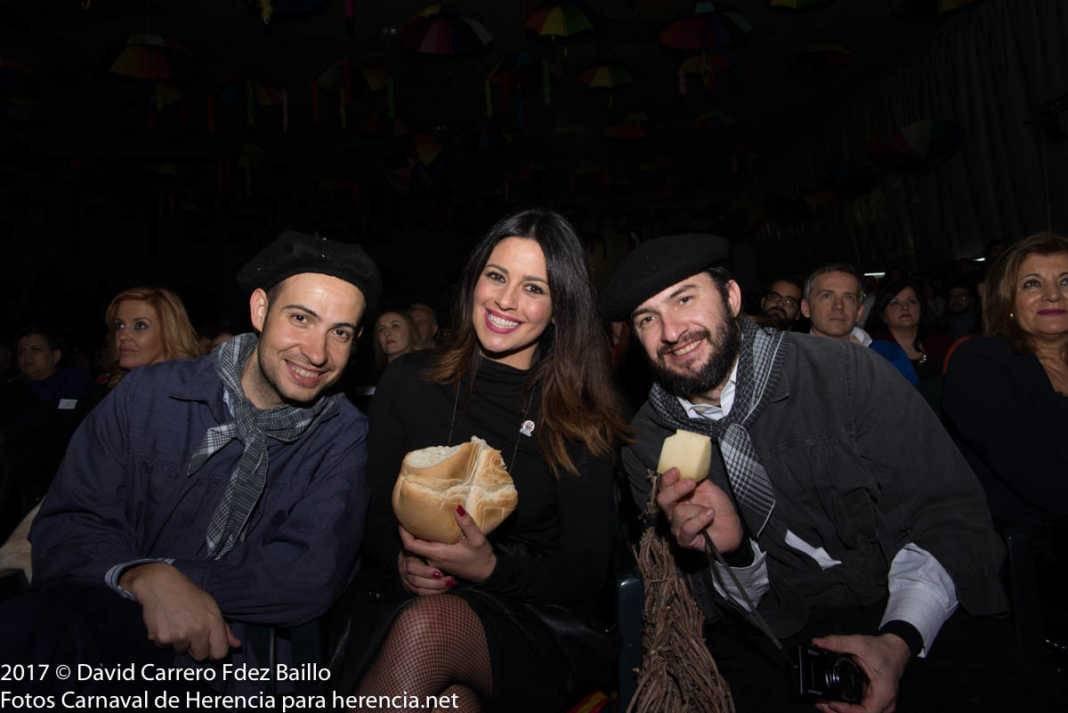 galanes con nani gaitan 1068x713 - El Carnaval de Herencia inaugura su fiesta más destacada