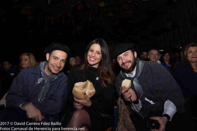 galanes con nani gaitan 629x420 - El Carnaval de Herencia inaugura su fiesta más destacada