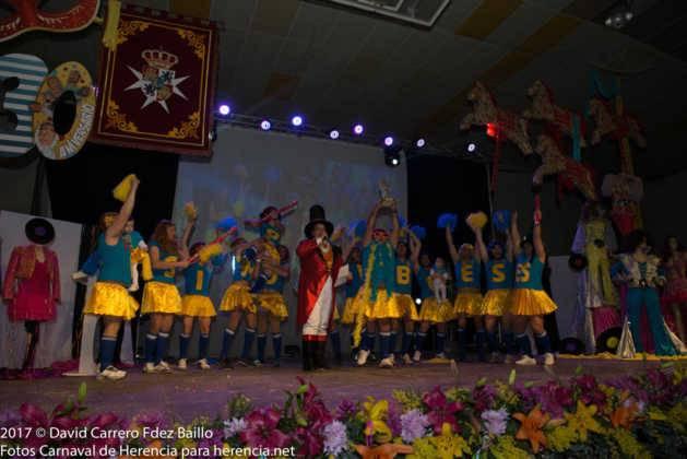 inauguracion carnaval de herencia 2017 en palacio 26 629x420 - El Carnaval de Herencia inaugura su fiesta más destacada