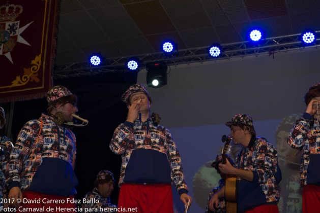 inauguracion carnaval de herencia 2017 en palacio 31 629x420 - El Carnaval de Herencia inaugura su fiesta más destacada