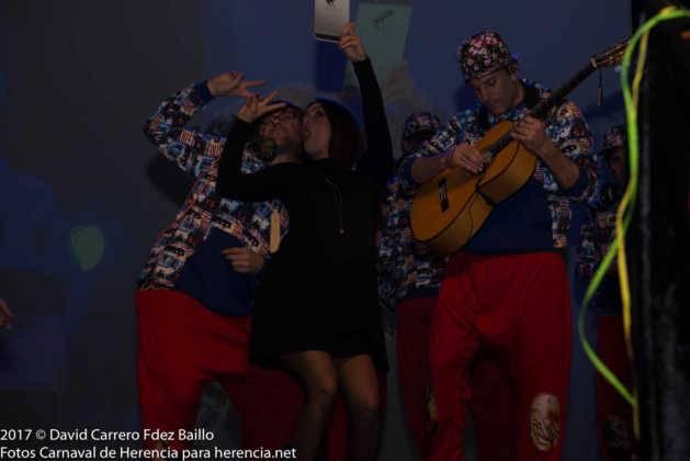 inauguracion carnaval de herencia 2017 en palacio 34 629x420 - El Carnaval de Herencia inaugura su fiesta más destacada