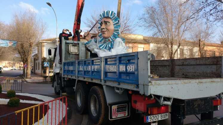 El Carnaval de Herencia instaló la escultura Perlé 8
