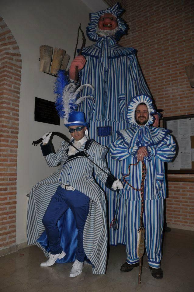 mariano perle carnaval de herencia - La Máscara de Carnaval, nuestros Gigantes y Cabezudos y Mariano