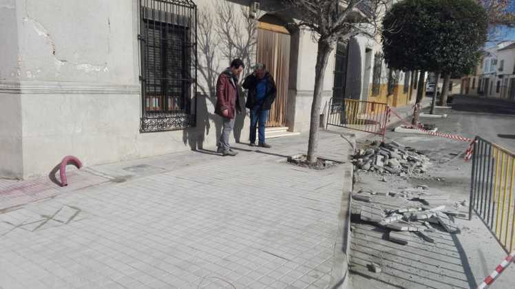 Remodelación de la intersección de la calle Cruces en Herencia 4