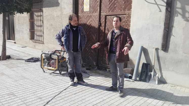 obras en interseccion calle cruces herencia 2 748x420 - Remodelación de la intersección de la calle Cruces en Herencia
