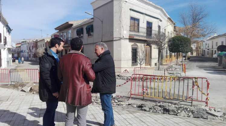 Remodelación de la intersección de la calle Cruces en Herencia 7