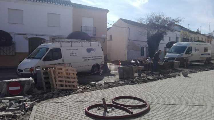 Remodelación de la intersección de la calle Cruces en Herencia 13